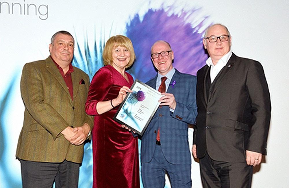 Blairtum House restoration wins top Government award
