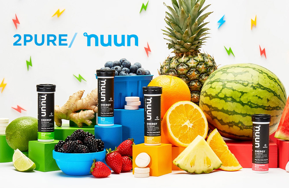 Nuun and 2pure partners from April 2021