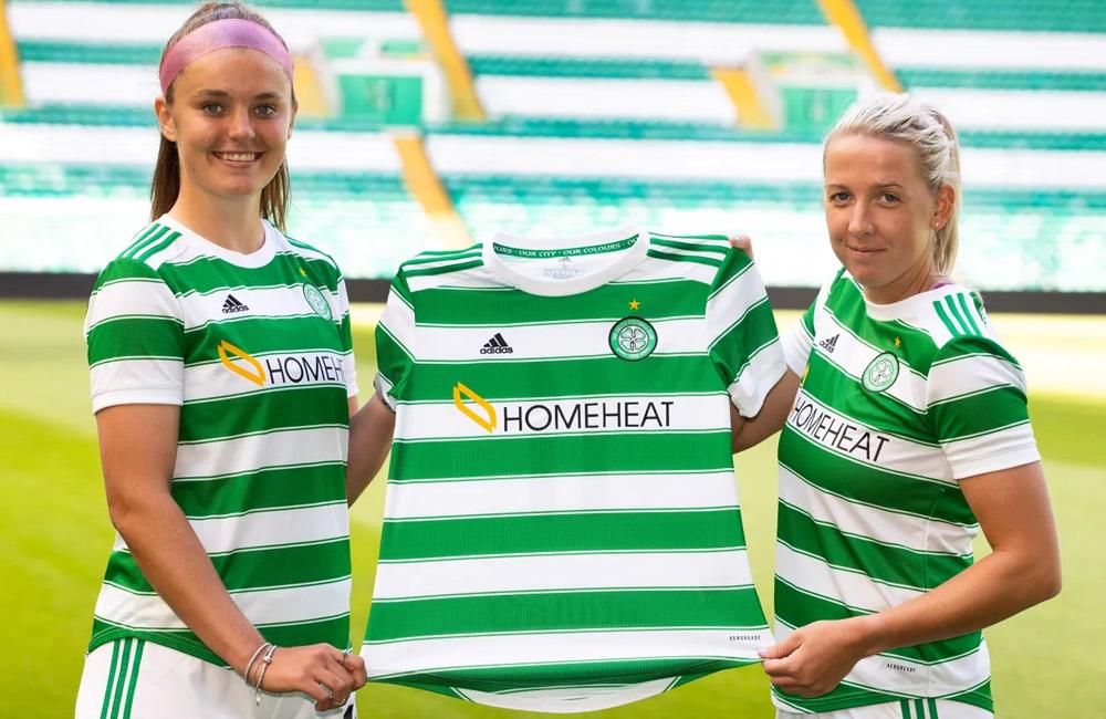 Homeheat sponsor Celtic Women's first team